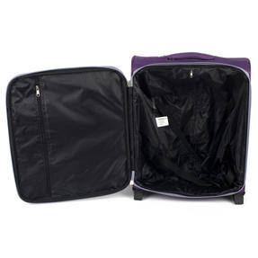 Constellation Easyjet Approved Maximum Capacity Cabin Case, Plum with Grey Trim Thumbnail 3