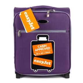 Constellation Easyjet Approved Maximum Capacity Cabin Case, Plum with Grey Trim Thumbnail 7