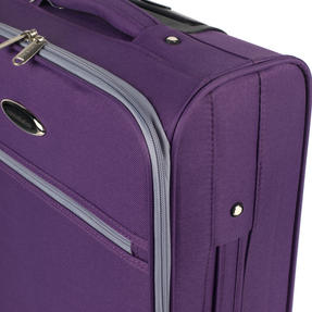 Constellation Easyjet Approved Maximum Capacity Cabin Case, Plum with Grey Trim Thumbnail 8