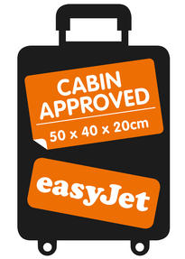 Constellation Easyjet Approved Maximum Capacity Cabin Case, Plum with Grey Trim Thumbnail 9