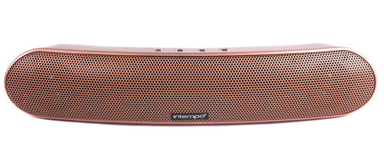 Intempo Curved Bluetooth Metallic Speaker, Rose Gold