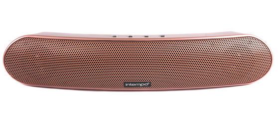 Intempo EE1736RGSTK Curved Bluetooth Metallic Speaker, Rose Gold