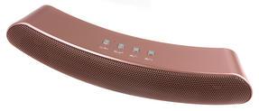 Intempo EE1736RGSTK Curved Bluetooth Metallic Speaker, Rose Gold Thumbnail 2