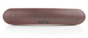 Intempo EE1736RGSTK Curved Bluetooth Metallic Speaker, Rose Gold Thumbnail 3