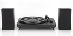 Intempo EE1837STK Turntable with Stereo Speakers, 6 W, Black Thumbnail 2
