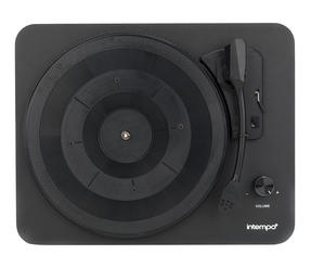 Intempo EE1837STK Turntable with Stereo Speakers, 6 W, Black Thumbnail 3
