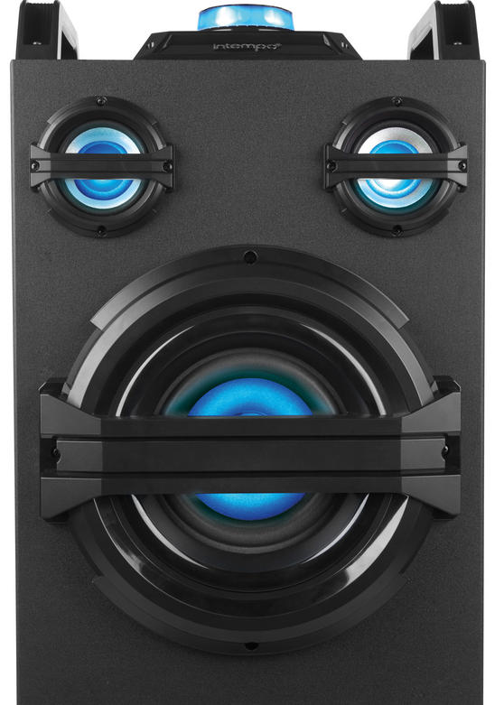Intempo Ee2383 Portable Party Speaker With Led Lights