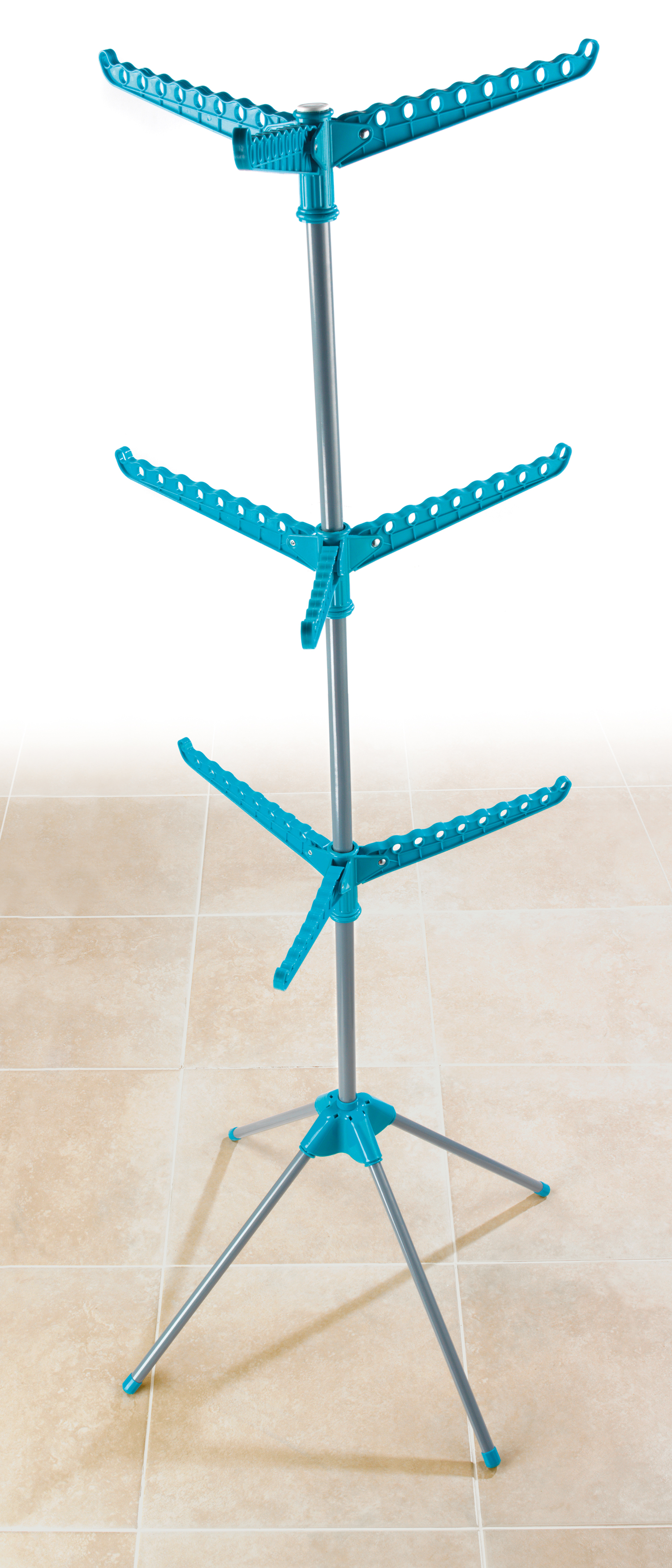 Beldray 9 Arm Clothes Airer Dryer Turquoise Beldray