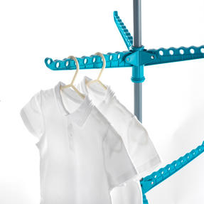 Beldray LA039552TQ 9 Arm Clothes Airer Dryer, Turquoise Thumbnail 4