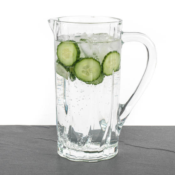 RCR 25124020006 Twist Crystal Glass Water Juice Cocktail Jug, 1200 ml