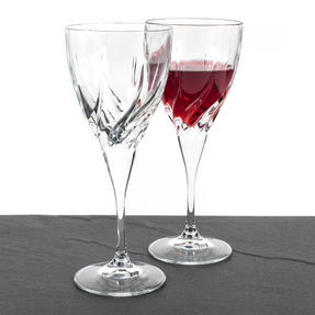 RCR 25119020006 Twist Crystal Wine Glasses, 330 ml, Set of 2 Thumbnail 2