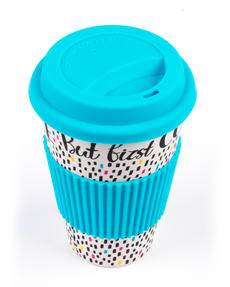 Cambridge CM05634 But First Coffee Reusable Travel Mug Thumbnail 5