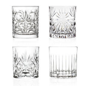 RCR 26249020006 Mixology Luxion Crystal Tumblers, Set of Four