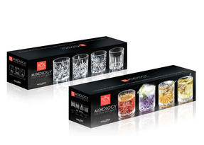 RCR 26249020006 Mixology Luxion Crystal Tumblers, Set of Four Thumbnail 5