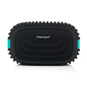 Intempo EE1272BLUSTK Water Resistant Wireless Bluetooth Speaker, Blue Thumbnail 2