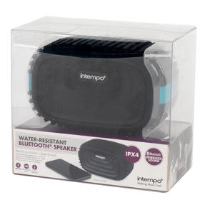Intempo EE1272BLUSTK Water Resistant Wireless Bluetooth Speaker, Blue Thumbnail 5