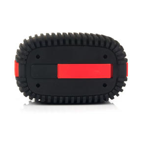 Intempo EE1272REDSTK Water Resistant Wireless Bluetooth Speaker, Red Thumbnail 3