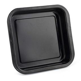 Russell Hobbs BW000751 Romano Vitreous Enamel Square Baking Pan, 26 cm, Black Thumbnail 2