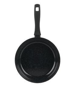 Salter BW05504SA Marble Collection Forged Aluminium Frying Pan, 20 cm, Black Thumbnail 1