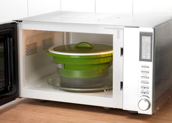 Salter Duosteam Healthy Microwave Vegetable Meat And Fish