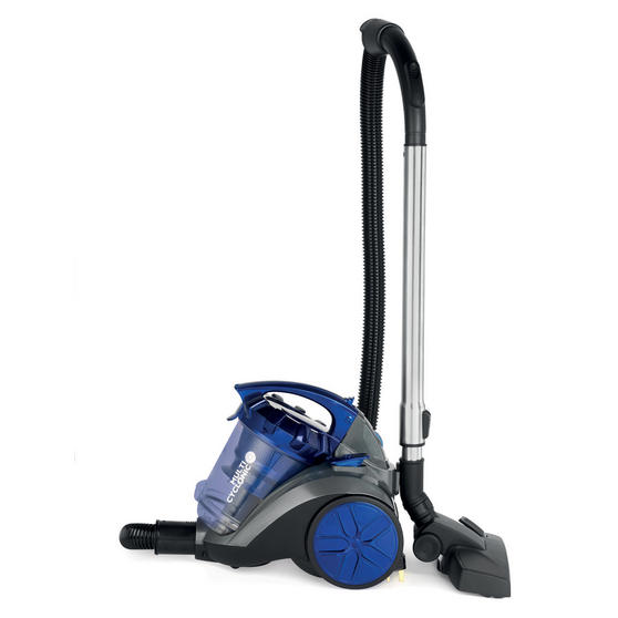 Beldray Multicyclonic Cylinder Vacuum Cleaner, 2 Litre, 700 W, Blue