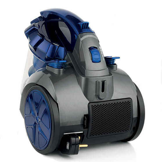 Beldray Multicyclonic Cylinder Vacuum Cleaner, 2 Litre, 700 W, Blue Thumbnail 5