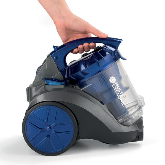 Beldray Multicyclonic Cylinder Vacuum Cleaner, 2 Litre, 700 W, Blue Thumbnail 2
