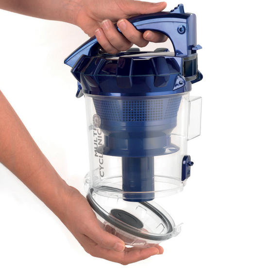 Beldray Multicyclonic Cylinder Vacuum Cleaner, 2 Litre, 700 W, Blue Thumbnail 3