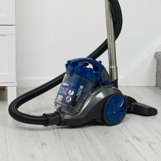 Beldray Multicyclonic Cylinder Vacuum Cleaner, 2 Litre, 700 W, Blue Thumbnail 6