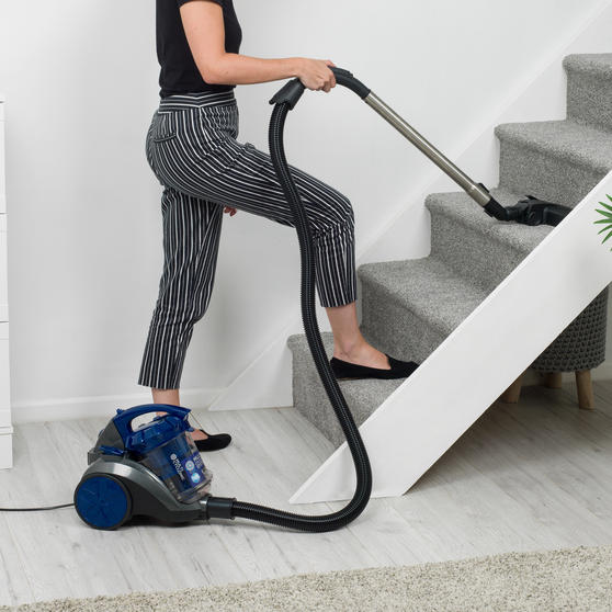 Beldray Multicyclonic Cylinder Vacuum Cleaner, 2 Litre, 700 W, Blue Thumbnail 8