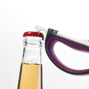 Progress BW05900P 6-in-1 Prep Multipurpose Kitchen Scissors, 2CR14 Stainless Steel, Purple Thumbnail 5