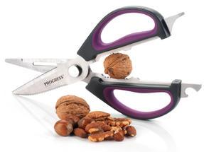 Progress BW05900P 6-in-1 Prep Multipurpose Kitchen Scissors, 2CR14 Stainless Steel, Purple Thumbnail 6