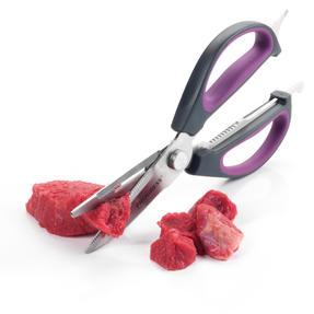 Progress BW05900P 6-in-1 Prep Multipurpose Kitchen Scissors, 2CR14 Stainless Steel, Purple Thumbnail 9