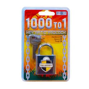 Boyz Toys RY851 Hardened Padlock, 1000 to 1 Key Ratio