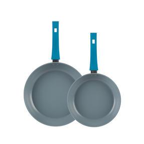 Progress Forged Aluminium Non Stick Frying Pan Set, 24/28 cm, MASTER Thumbnail 2