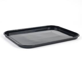 Russell Hobbs CW11441 Romano Vitreous Enamel Baking Tray, 40 cm, Black