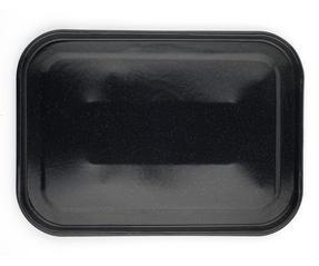 Russell Hobbs CW11441 Romano Vitreous Enamel Baking Tray, 40 cm, Black Thumbnail 3