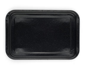 Russell Hobbs CW11471 Romano Vitreous Enamel Baking Tray, 36 cm, Black Thumbnail 3