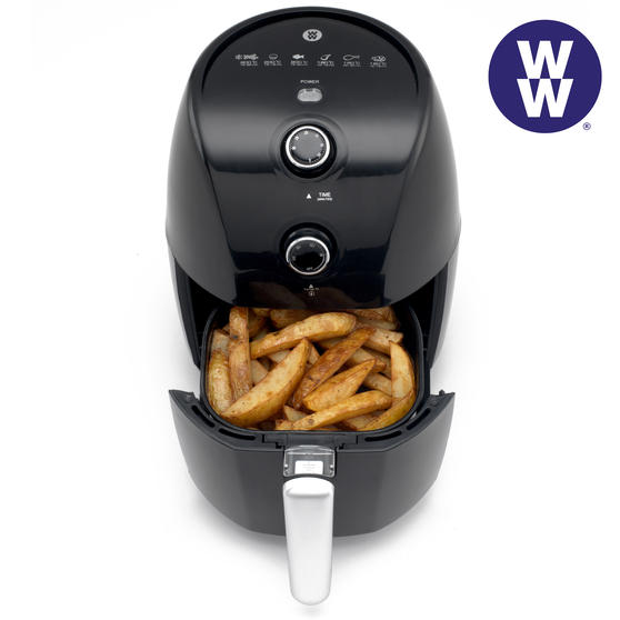 Weight Watchers EK2766WW Compact Air Fryer, 2 Litre, 900 W, Black