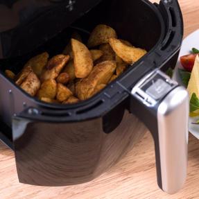 Weight Watchers EK2766WW Compact Air Fryer, 2 Litre, 900 W, Black Thumbnail 6