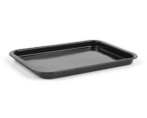 Russell Hobbs Vitreous Enamel 36 cm Baking Tray and 36 cm Roaster, Black Thumbnail 2