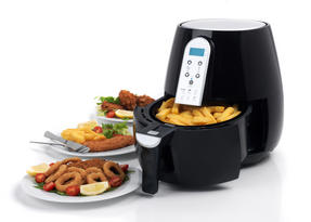 Salter EK2559 XL Digital Hot Air Fryer with Non-Stick Cooking Basket, 4.5 L, 1500 W