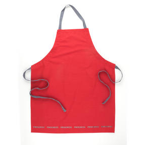 Progress Professional Kitchen Set with Oven Gauntlet, Neoprene Pan Handle Sleeve and Apron, Red Thumbnail 2