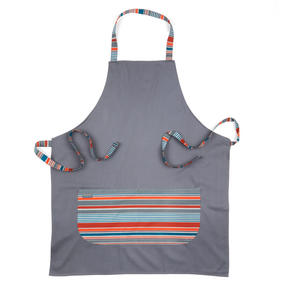 Progress Performance Kitchen Set with Neoprene Double Oven Glove, Apron and Pack of Three Tea Towels, Grey/Teal Thumbnail 4