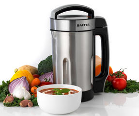 Salter EK2613 Go Healthy Electric Soup Maker , 1100W, 1.6 Litre Thumbnail 1