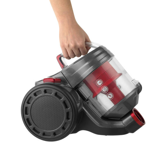 Beldray Compact Vac Lite Cylinder Vacuum, 2 Litre, 700 W, Red Thumbnail 3