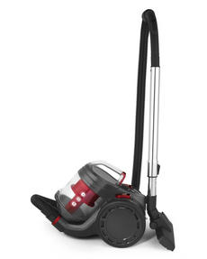 Beldray BEL0700 Compact Vac Lite Cylinder Vacuum, 2 Litre, 700 W, Red