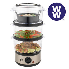 Weight Watchers EK2760WW 3-Tier Steamer, 7.5 Litre, 500 W Thumbnail 1