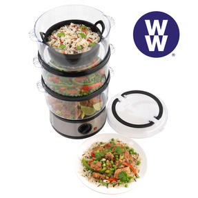 Weight Watchers EK2760WW 3-Tier Steamer, 7.5 Litre, 500 W Thumbnail 2