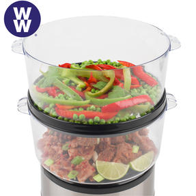 Weight Watchers EK2760WW 3-Tier Steamer, 7.5 Litre, 500 W Thumbnail 3